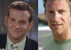 Bradley Cooper and Chase Jarvis (right) - Seperated at birth?