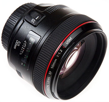 The Canon EF 50mm f/1.2helL Lens