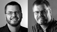 Vincent Laforet (left) and Eolake Stobblehouse, separated at birth?
