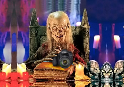 The Cryptkeeper with EOS 7D