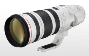 Canon EF 200-400mm f/4 lens
