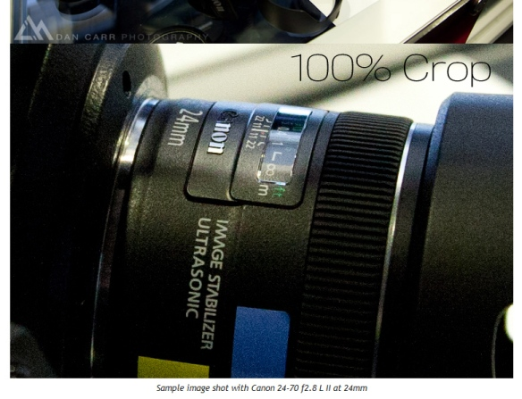 Canon EF 24-70mm f/2.8L II Sample