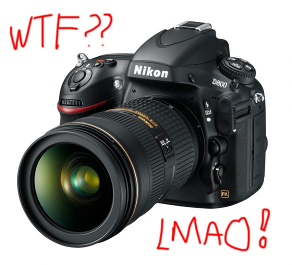 Nikon D800 - Less than meets the eye