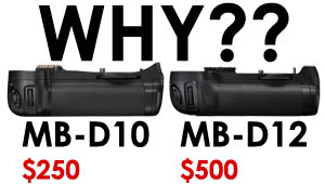 Nikon MB-D12 Ass Rape
