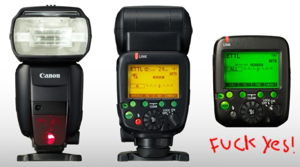 Canon 600EX-RT Flash and Canon ST-E3-RT Trigger