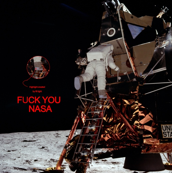 FUCK YOU NASA!!!