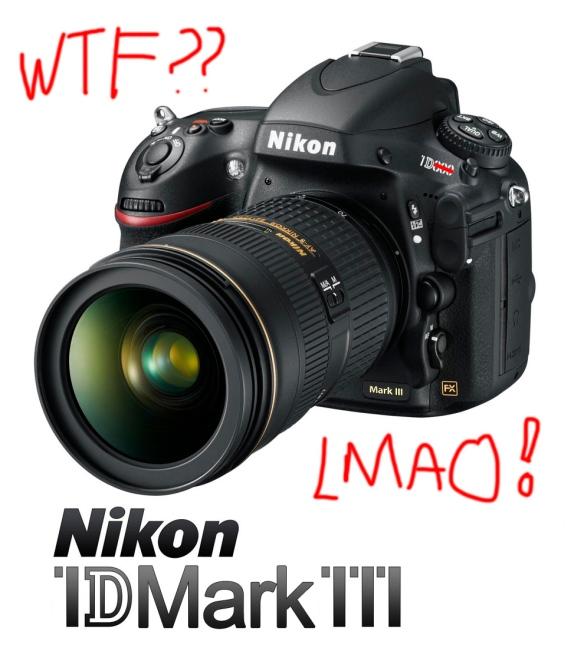 The Nikon 1D Mark III (AKA D800)